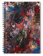 Angel Rising Spiral Notebook