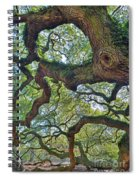 Angel Tree Abstract Spiral Notebook
