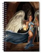 Angel Warrior Spiral Notebook