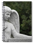 Angel Watching Over Me Spiral Notebook