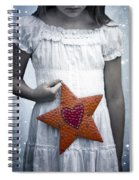 Angel With A Star Spiral Notebook