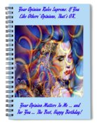 Angelic Beauty Spiral Notebook