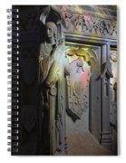 Angelic Escort Spiral Notebook