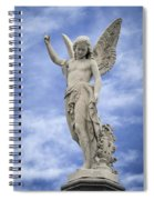 Angelic Peace And Beauty Spiral Notebook