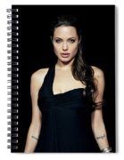 Angelina Jolie Spiral Notebook