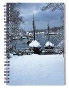 Angelique And Lewis R French In The Snow Spiral Notebook