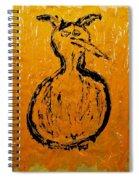 Angels And Devils - Sun Devil Spiral Notebook