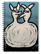Angels And Devils - The Twins Spiral Notebook