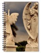 Angels In Havana Spiral Notebook