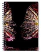 Angels Inside Spiral Notebook