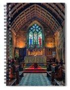 Angels Light Spiral Notebook