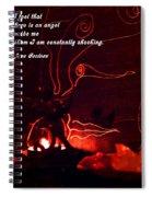 Angel's Light Spiral Notebook
