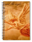 Angels On Guard Spiral Notebook