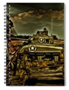 Angels On The Battlefield - Oil Spiral Notebook