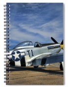 Angels Playmate  Spiral Notebook