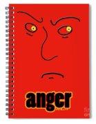 Anger Spiral Notebook