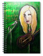 Angie Stevens Solo Spiral Notebook