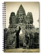 Angkor Thom Southern Gate Spiral Notebook