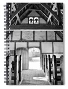 Anglican Church At James Fort Interior Spiral Notebook