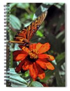Angling For Food Spiral Notebook