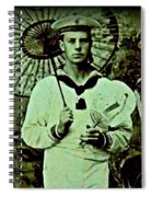Anglo Sailor In China Ca 1890 Spiral Notebook
