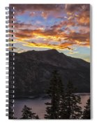 Angora Ridge Sunset 9 Spiral Notebook