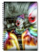 Angry Clowns Spiral Notebook