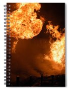 Angry Face Spiral Notebook