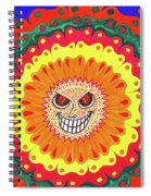 Angry Flower Spiral Notebook