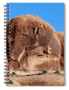 Angry Rock - 3  Spiral Notebook