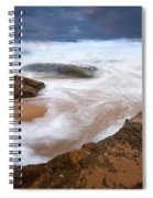 Angry Sea Spiral Notebook