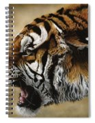 Angry Siberian Spiral Notebook