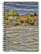 Angry Surf Spiral Notebook