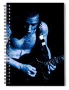 Angus Rocks The Blues Spiral Notebook