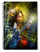 Angus Young Spiral Notebook