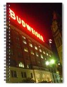 Anheuser-busch Brewery Spiral Notebook