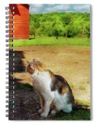 Animal - Cat - The Mouser Spiral Notebook