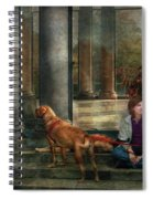 Animal - Dog - Hello There Spiral Notebook