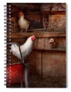 Animal - Chicken - The Duck Is A Spy  Spiral Notebook