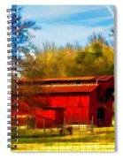 Animal Farm Painting Spiral Notebook