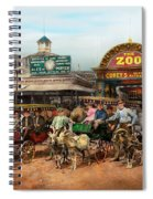 Animal - Goats - Coney Island Ny - Kid Rides 1904 Spiral Notebook