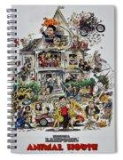 Animal House  Spiral Notebook