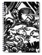 Animal Legend 1912 Spiral Notebook