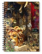 Animal Masks From Venice Spiral Notebook