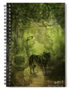 Animal Sprits - The Wolf Spiral Notebook
