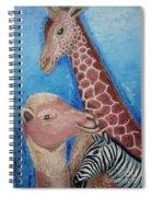 Animals Ladies Spiral Notebook