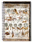 Animals Past And Present Spiral Notebook