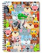 Animals Zoo Spiral Notebook