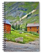 Animas Forks Ghost Town Spiral Notebook