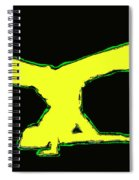 Animated Hiphop Dancer Spiral Notebook